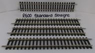 4x Hornby R600 Standard Straight Track