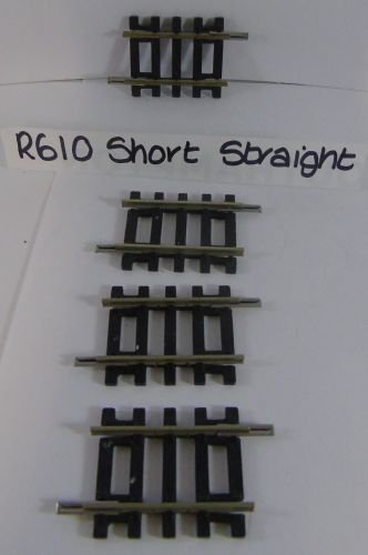 4 x Hornby R610 Short Straight