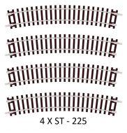 4 X Peco ST-225 Standard Curve, 2nd Radius