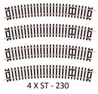 4 X Peco ST-230 Standard Curve, 3rd Radius