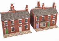 PN103 RED BRICK TERRACED HOUSES