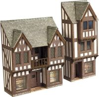 PN190 LOW RELIEF TIMBER FRAMED SHOPS