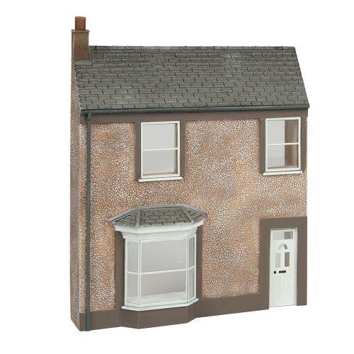 Bachmann 44-0203 Low Relief Pebble Dash Terrace House New