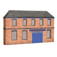 Bachmann 44-0205 Low Relief Victorian Factory Front