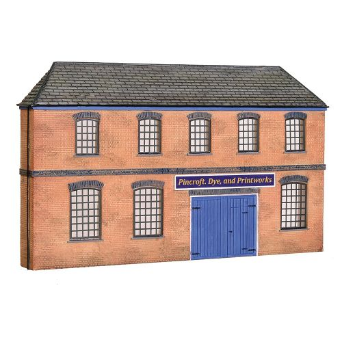 Bachmann 44-0205 Low Relief Victorian Factory Front New