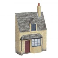 Bachmann 44-295 Low Relief Honey Stone Cottage New