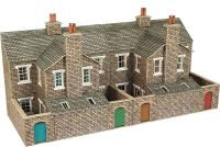 PO277 LOW RELIEF STONE TERRACED HOUSE BACKS