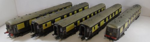 Hornby Class 5BEL Pullman Brighton Belle 1934 5 Car Pack DCC Fitted