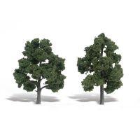"""Trees 5""""-6"""" Ready Made Medium Green (2/Pk)"""