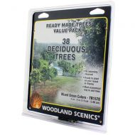"""Trees ¾""""-2"""" Ready Made Mixed Green Deciduous Value Pack (38/Pk)"""