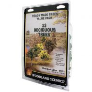 """Trees 2""""-3"""" Ready Made Mixed Green Deciduous Value Pack (23/Pk)"""