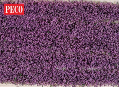 New Peco PSG-32 Lavender Tuft Strips 6mm High Self Adhesive